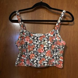 ⭐️ 2 for $10 ⭐️ Floral Crop Top